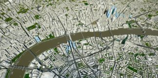3D model of London and its Future Skyline feature