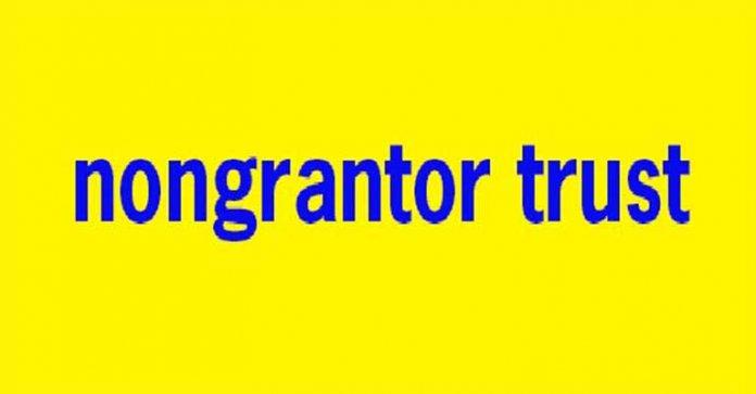 Nongrantor Trusts