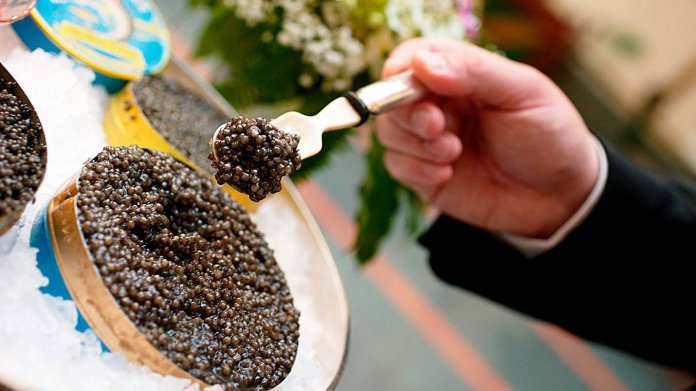 Eating Caviar