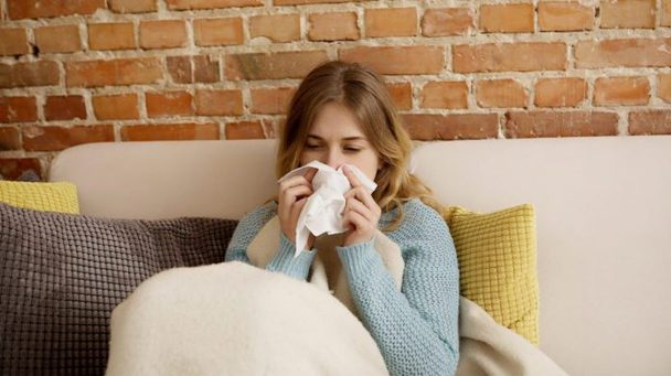 You experience constant allergies in the morning