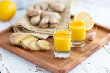 Tir au citron et au gingembre