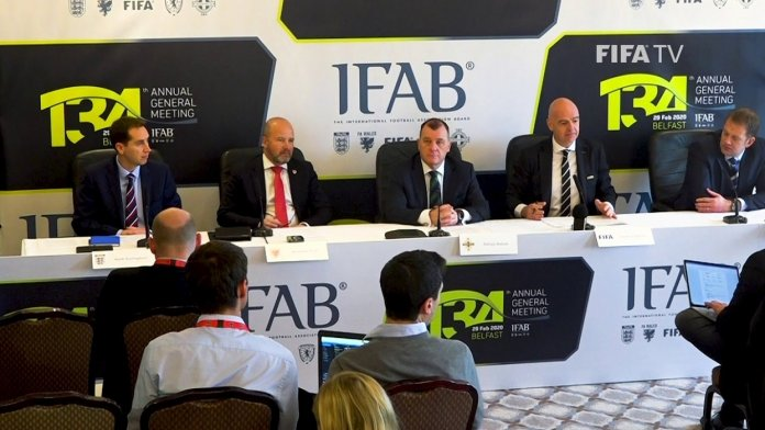 Five Substitutions Per Team Permitted By IFAB