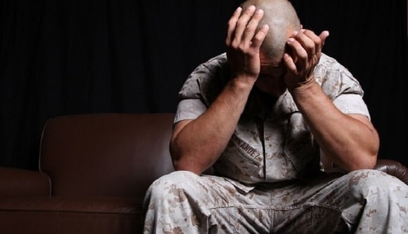 Suffering with Post-Traumatic Stress Disorder