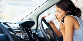 Most common causes of road accidents in the UK