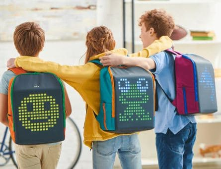 LED backpacks