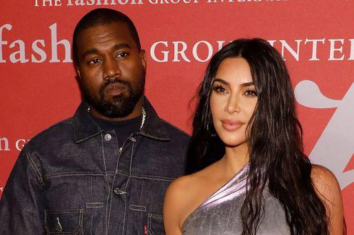Kim Kardashian and Kayne West-1