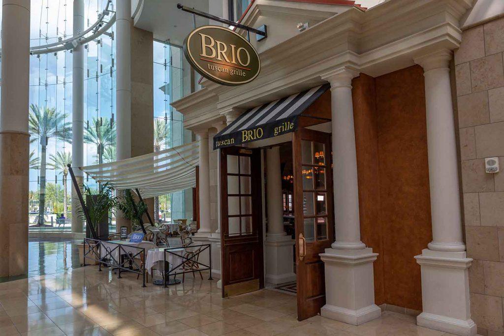 Brio Italian Grille restaurants open on Christmas