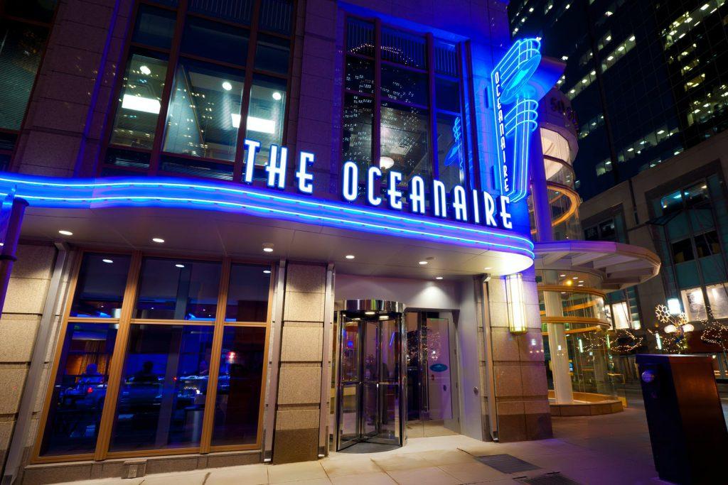 The Oceanaire Seafood Room restaurants open on Christmas