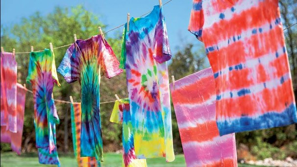 How To Tie Dye Patterns