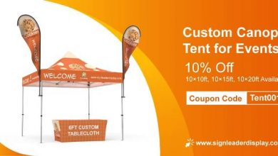 What are the benefits of a custom canopy tent?