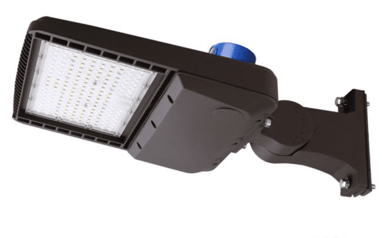 100W Parking Lot Light Guide and Accessories